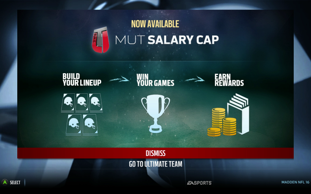 Salary Cap Pros and Cons  Madden 17